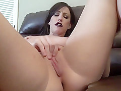 Jennifer White tells you she is still a Virgin and masturbates for you