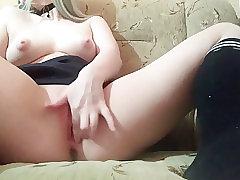 school girl solo masturbate