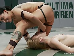 Two Hot Rookies Battle It Out For Their 1st Winone Will Win, One Will Get Ass Fucked For Losing. - Publicdisgrace